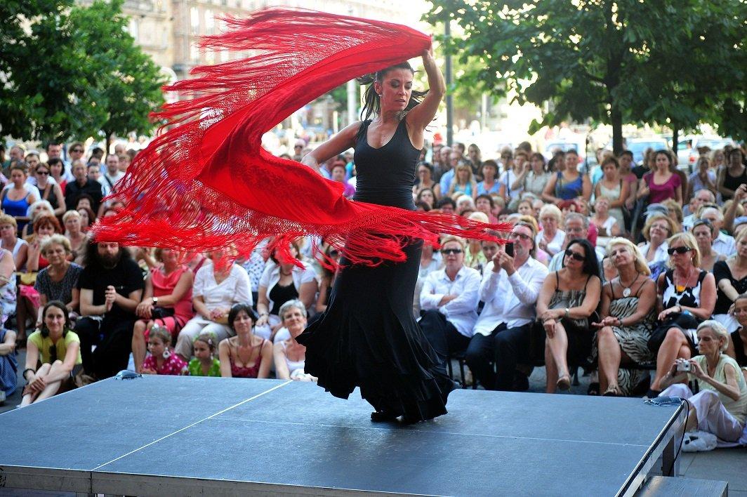 Flamenco namiętnie - spektakl plenerowy
