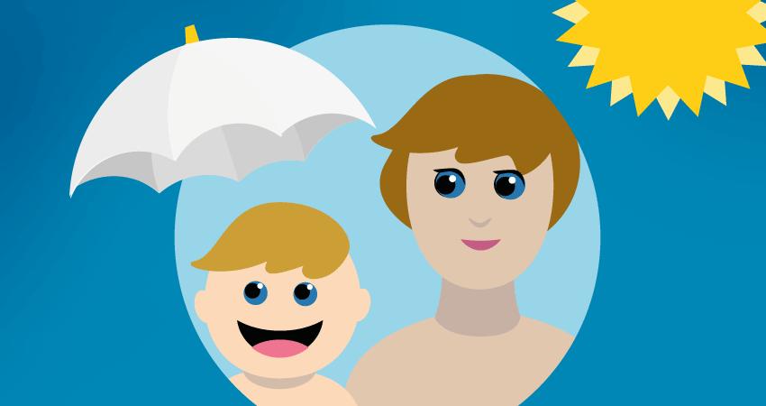 Bezpieczna kąpiel słoneczna, czyli jak chronić dziecko przed słońcem