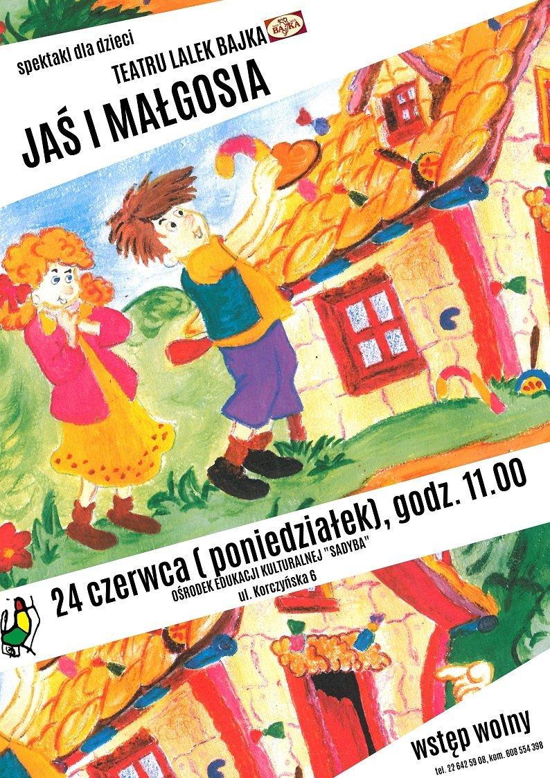 Jaś i Małgosia - przedstawienie teatralne