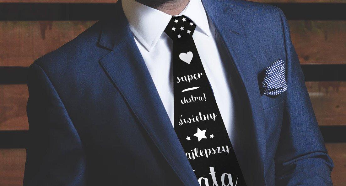 krawat tata dzień taty