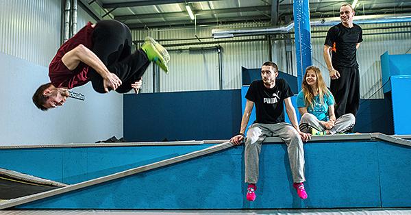 Wakacje na trampolinach