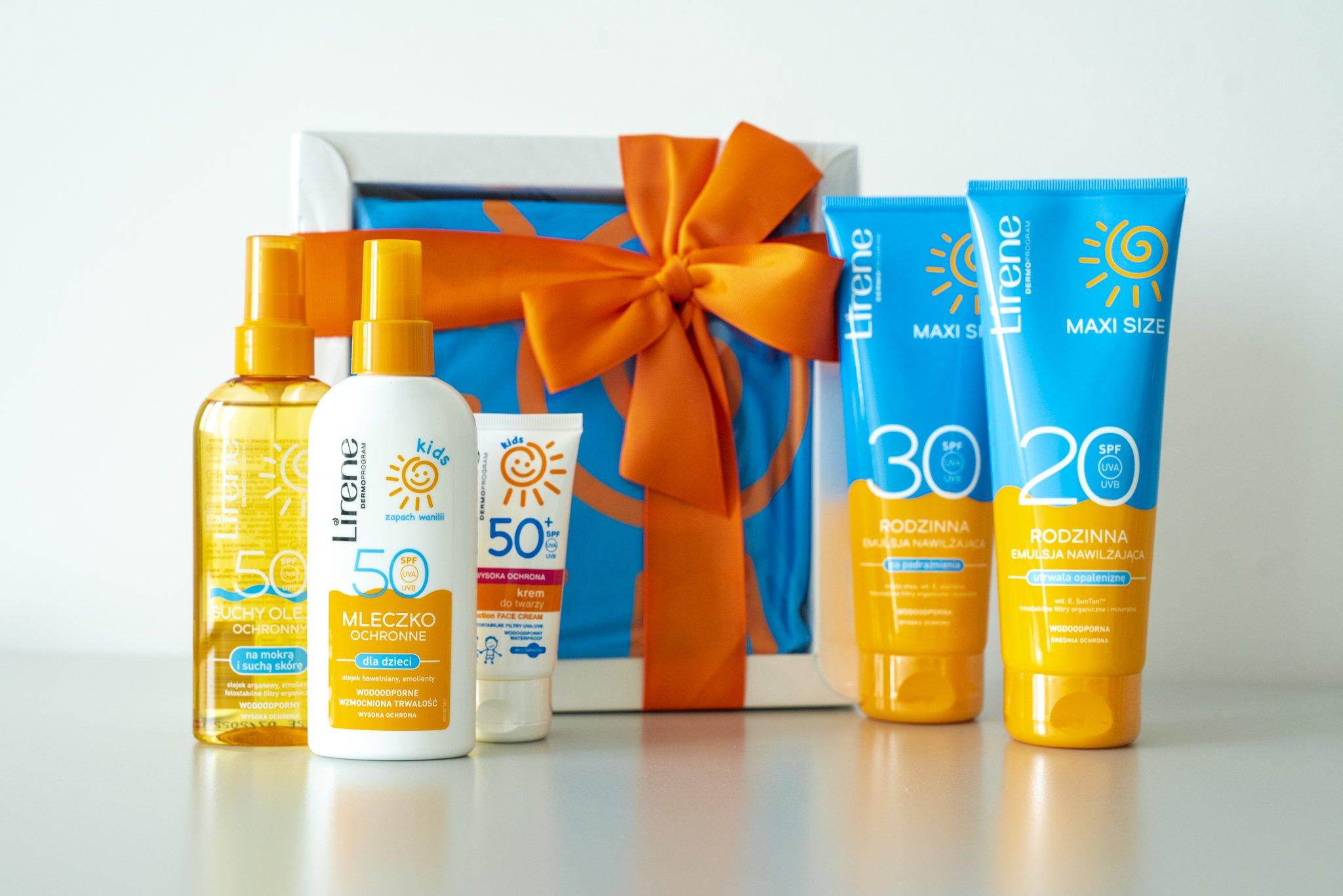 Słoneczny konkurs – do wygrania kosmetyki przeciwsłoneczne dla całej rodziny!