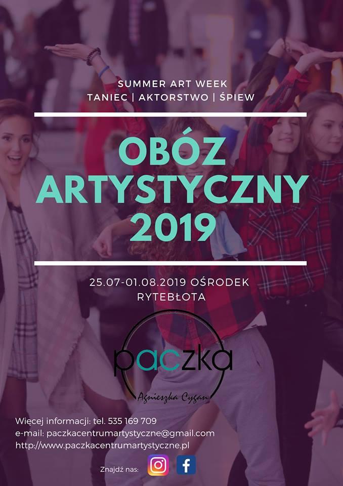Obóz artystyczny Summer Art Week