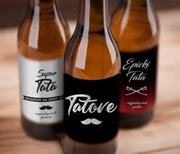 Darmowe etykiety na butelki na Dzień Taty do druku