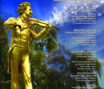 Wieliczkę i Wiedeń połączy muzyka Straussów.Popołudnie ze Straussem 2019