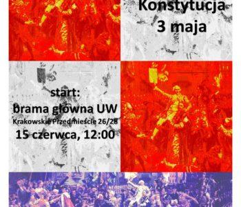 Teatralną gra edukacyjna: Luneta Czasu i Konstytucja 3 maja