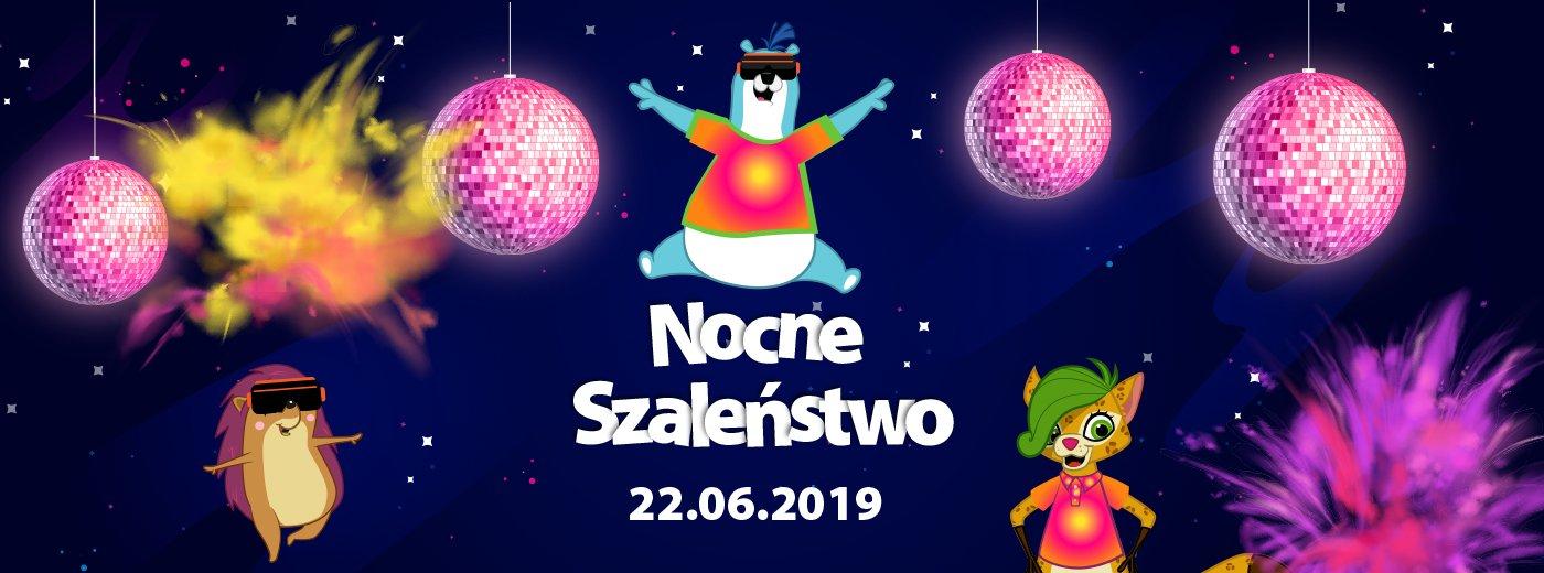 Nocne Szaleństwo - Loopy's World Gdańsk
