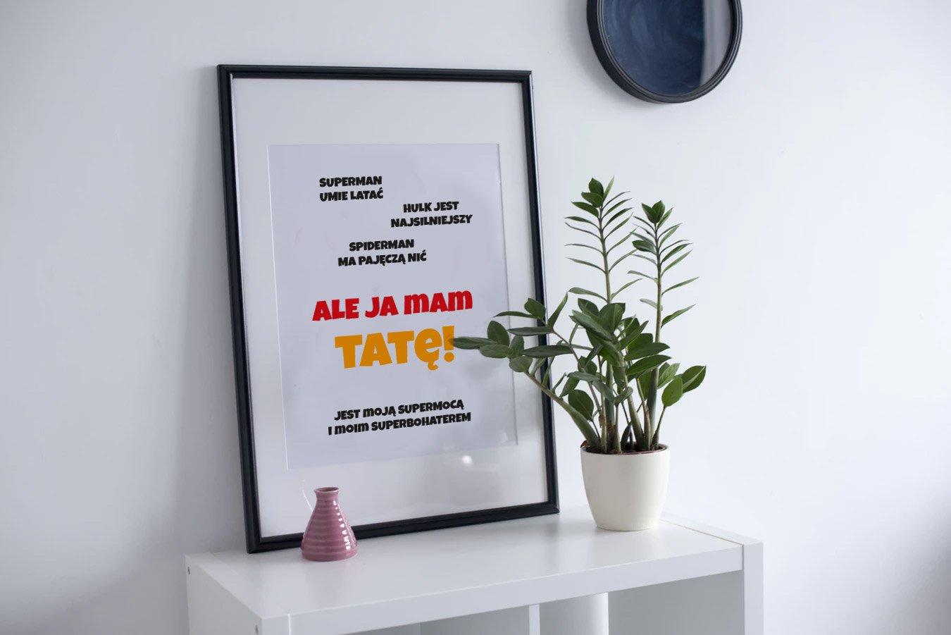Darmowe plakaty na Dzień Taty do druku