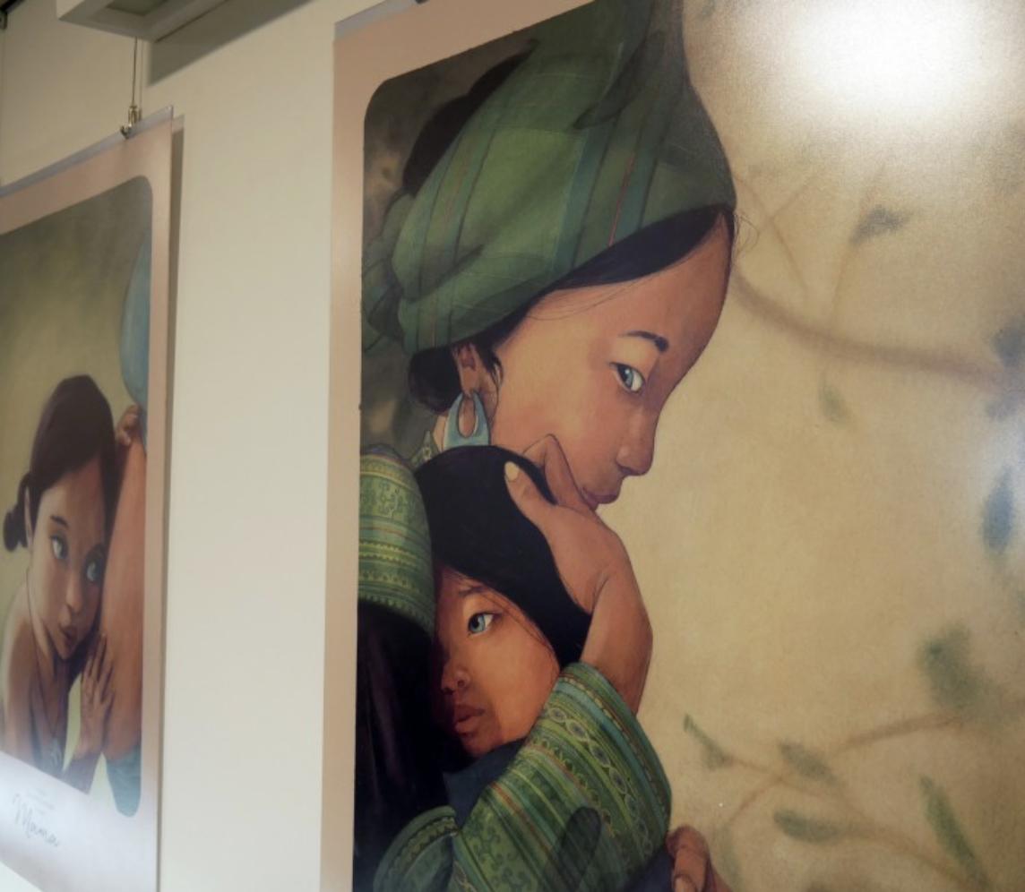 Mama Quentina Grébana w Muzeum Pana Tadeusza