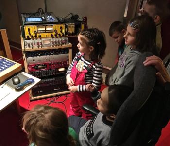 Półkolonie w studiu nagrań