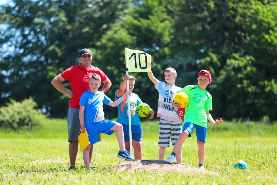 Footgolf Kaszebe atrakcje dla dzieci Władysławoo Tr≥ójmiasto Kaszuby