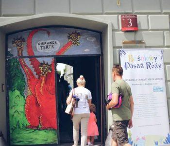 Baśniowy Pasaż Róży – plenerowe spektakle familijne