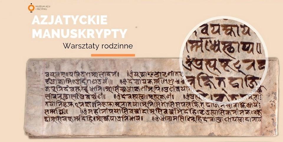 Azjatyckie manuskrypty - warsztaty rodzinne