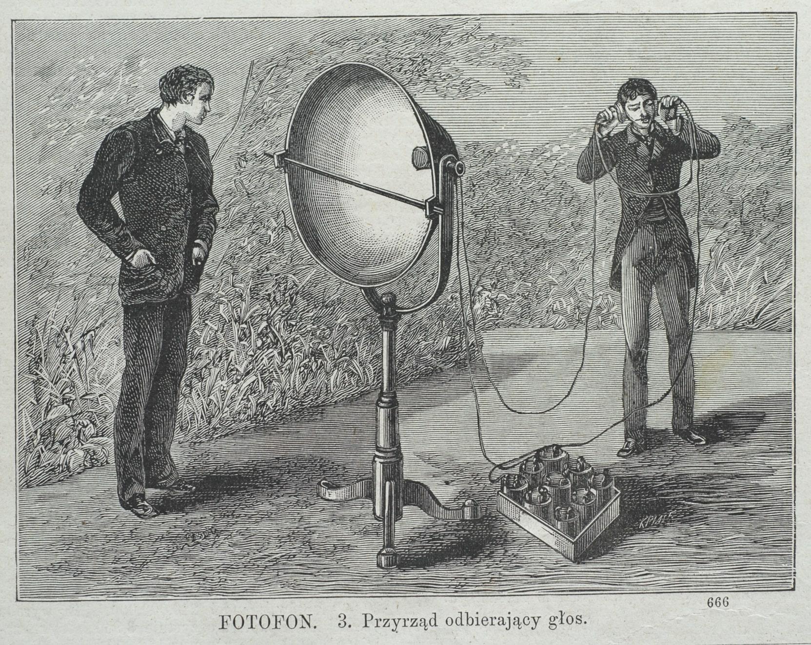 Dawno, dawno temu w pewnym laboratorium…. – Historia telekomunikacji na wesoło