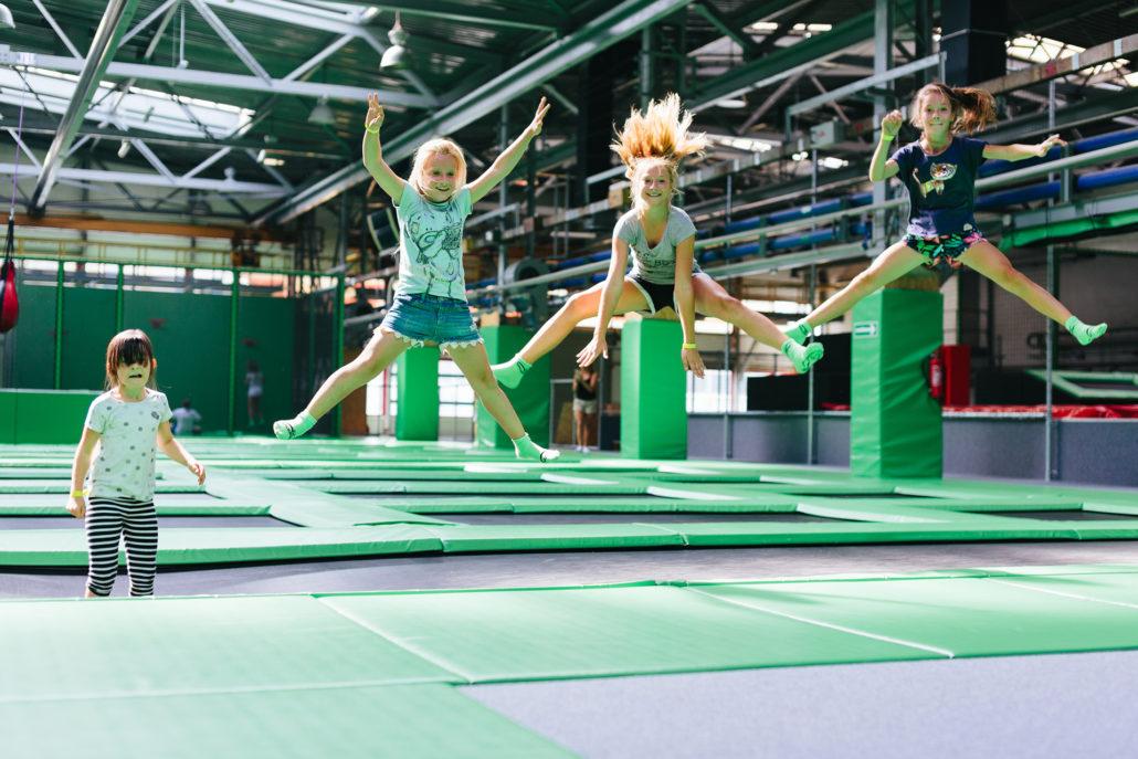 PArK Trampolin Go Jump zabawa