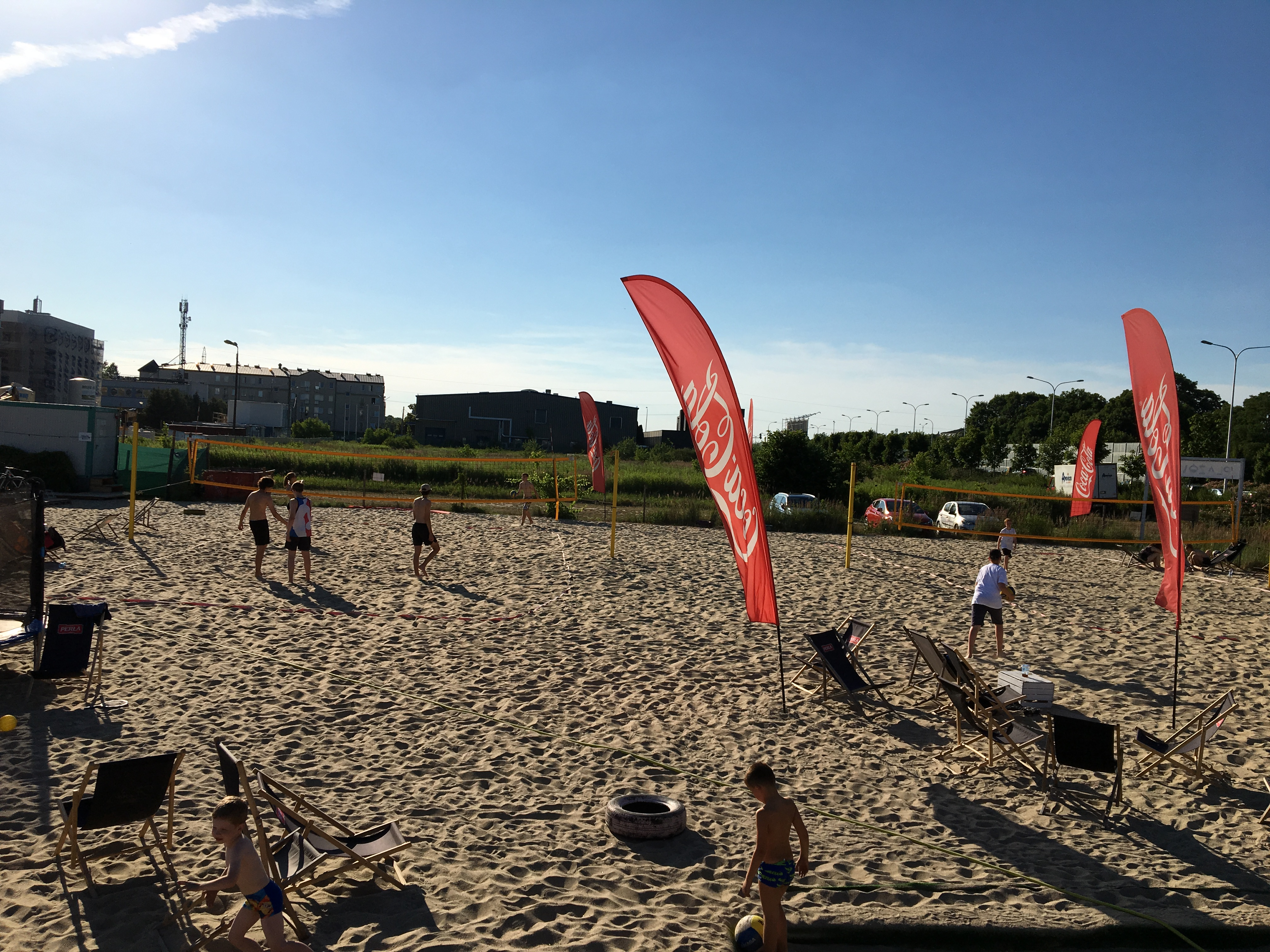 plaża Ursus w Warszawie
