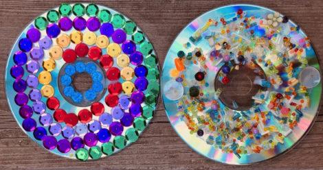 mandale z płyt CD