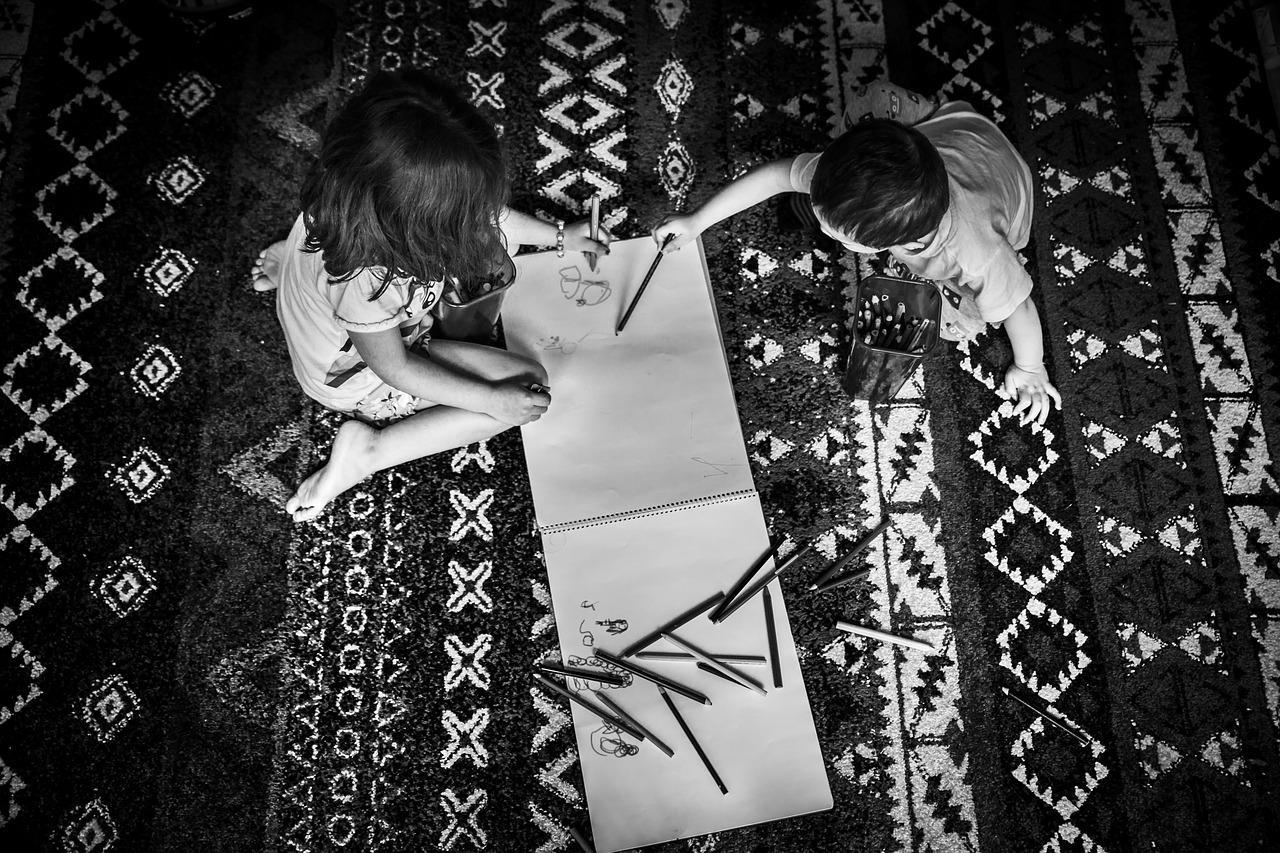 Czytanie na dywanie
