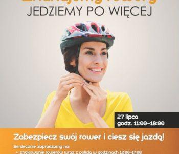 Jadę i pomagam, czyli rowerowa sobota w Centrum Korona