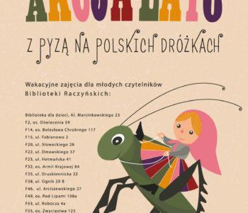 Z Pyzą na polskich dróżkach – akcja lato z książką