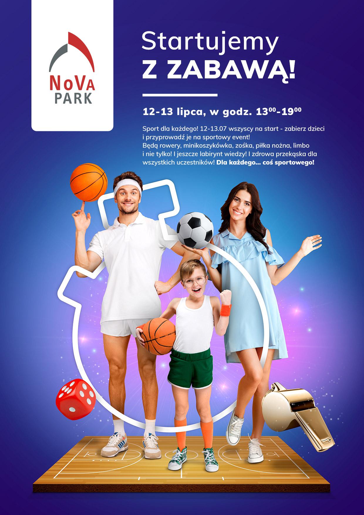 Sportowa zabawa w NoVa Park