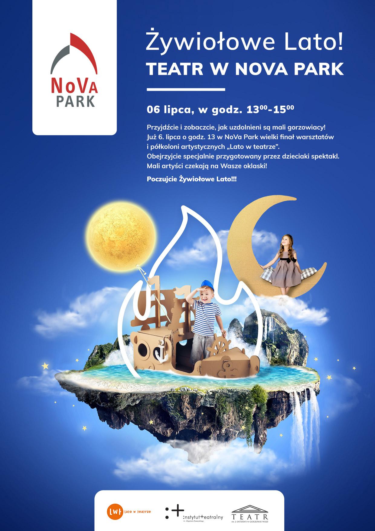 Lato w teatrze w NoVa Park
