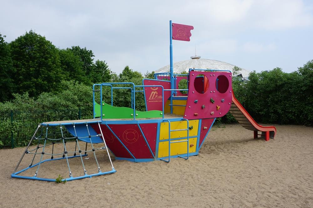 Plac zabaw w Parku Kasprowicza