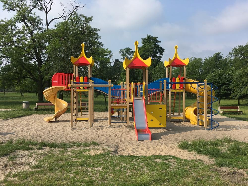 Plac zabaw w Parku Tysiąclecia