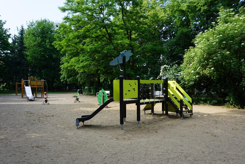 Plac zabaw w Parku Wilsona