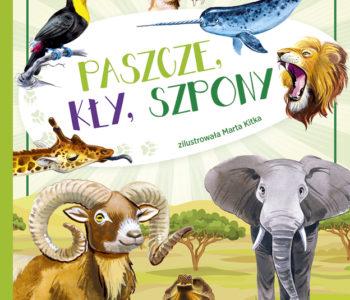 Paszcze, kły, szpony – książka  z serii Klubik odkrywców