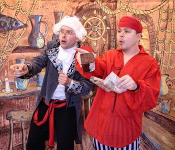 Teatralne Lato pod Chmurką: Piraci i wyspa skarbów. Siemianowice Śląskie