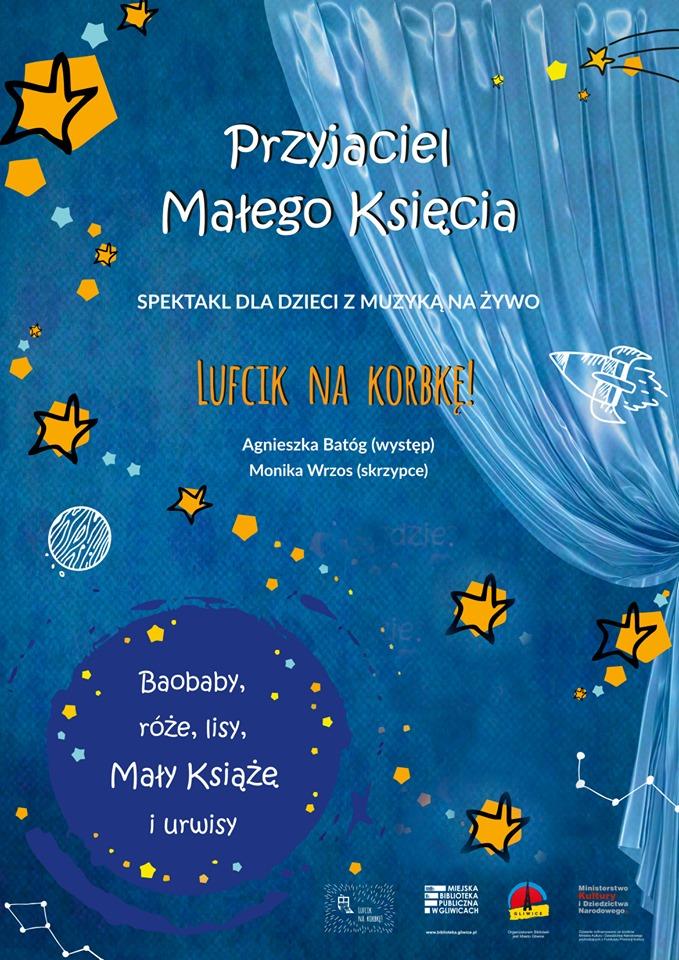 Przyjaciel Małego Księcia - spotkanie teatralne dla dzieci. Gliwice
