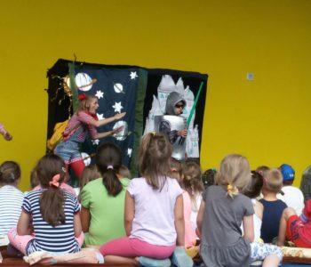 Teatralne Lato pod Chmurką: Smerfne przygody. Siemianowice Śląskie