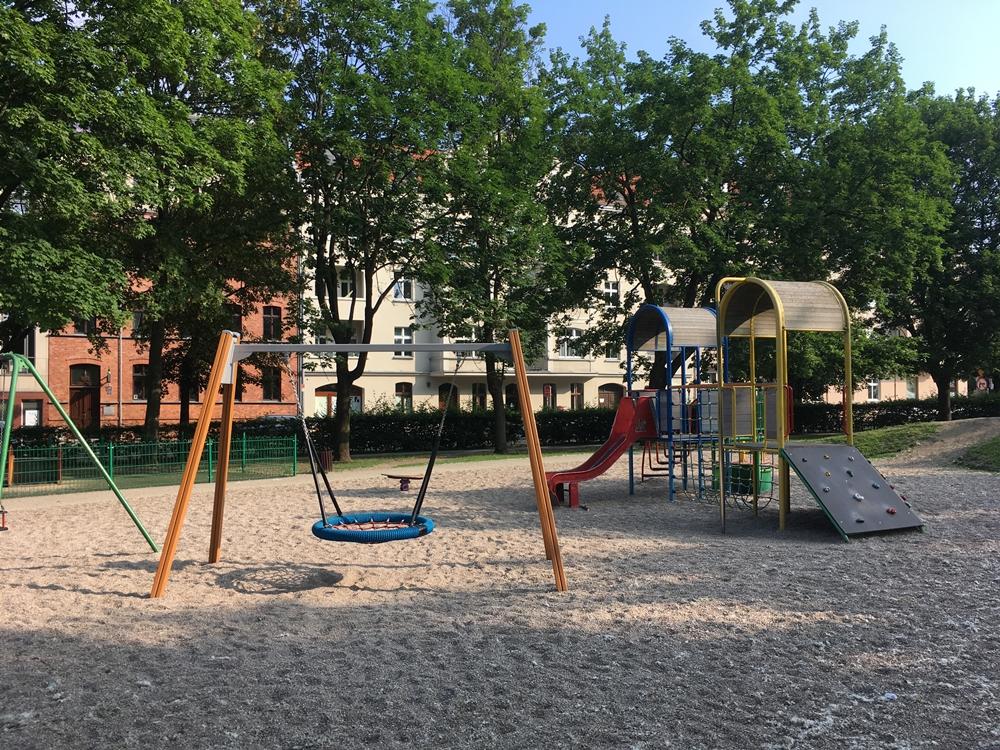 Place zabaw Poznań - Za Groblą