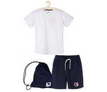 strój gimnastyczny dla chłopca