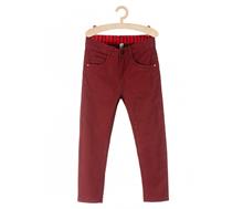 spodnie wiśniowe