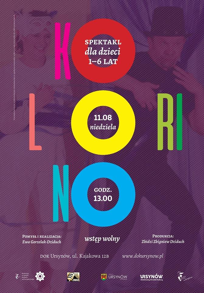 Teatr Kolorino - spektakl dla dzieci