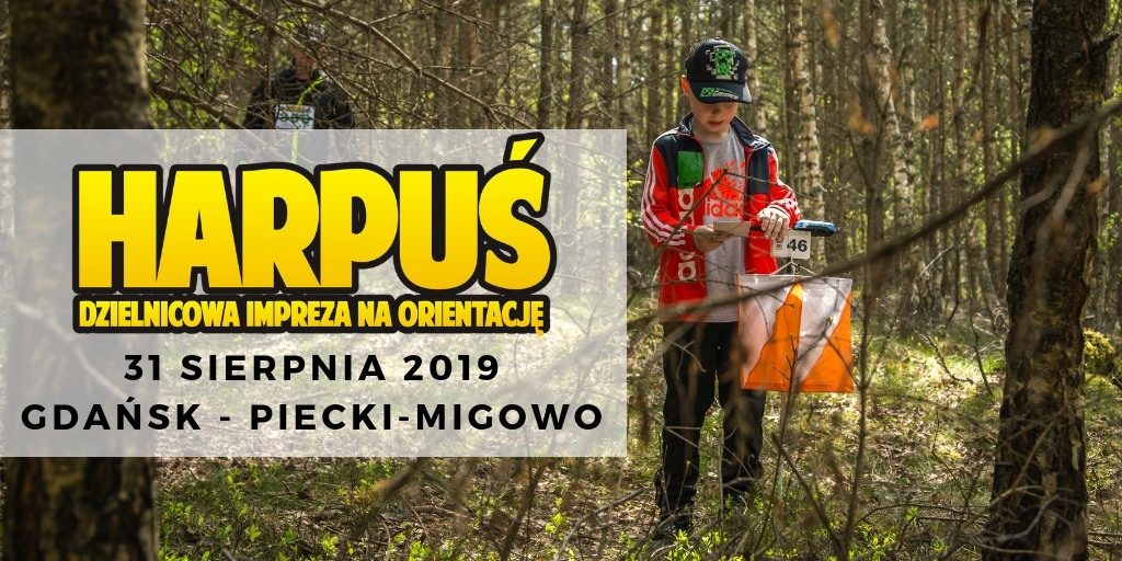 Harpuś - z mapą do Piecek-Migowa