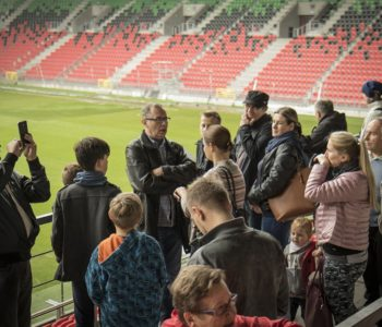 Poznaj Stadion Miejski i Tyską Galerię Sportu – zwiedzanie