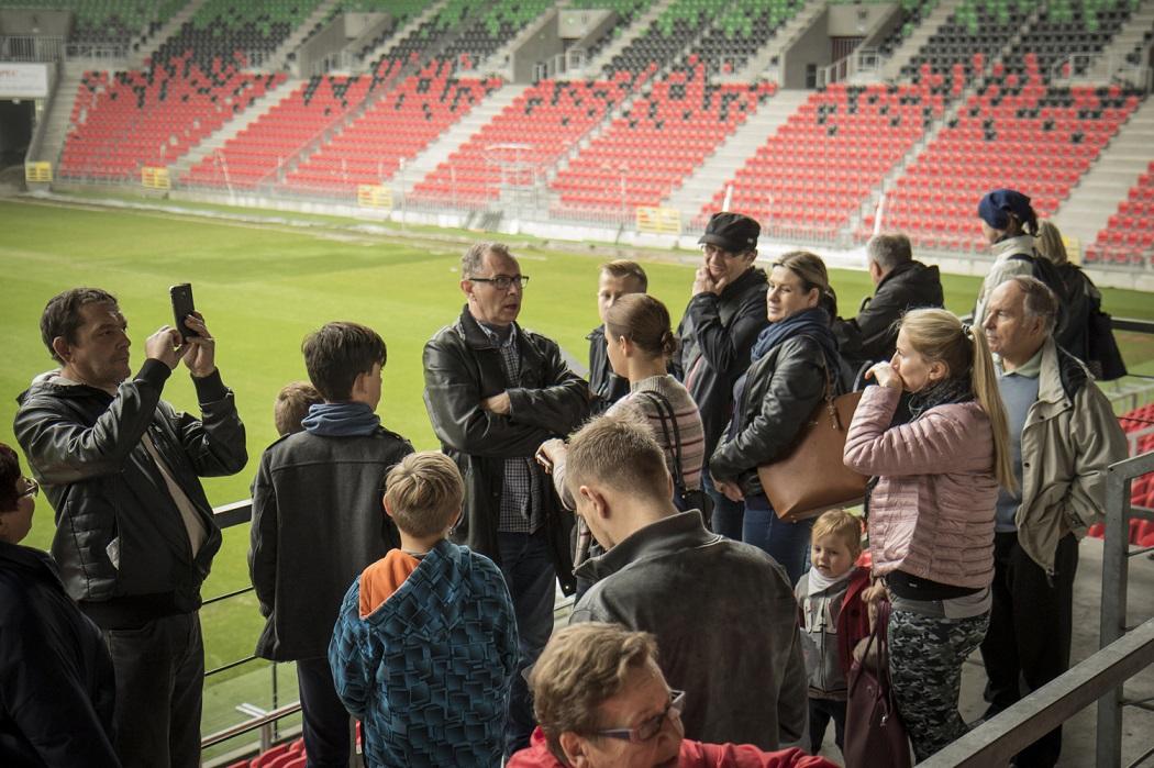 Poznaj Stadion Miejski i Tyską Galerię Sportu - zwiedzanie