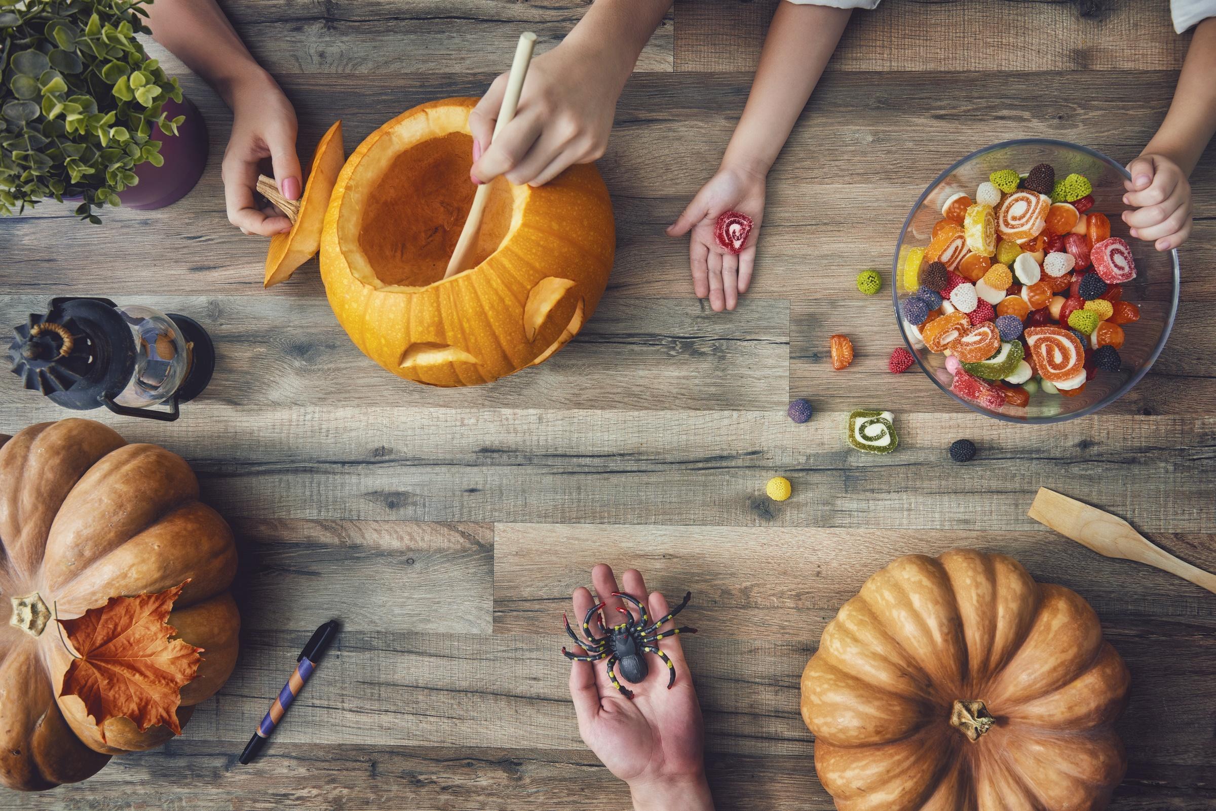 Warsztaty kulinarne: Halloweenowe lampiony