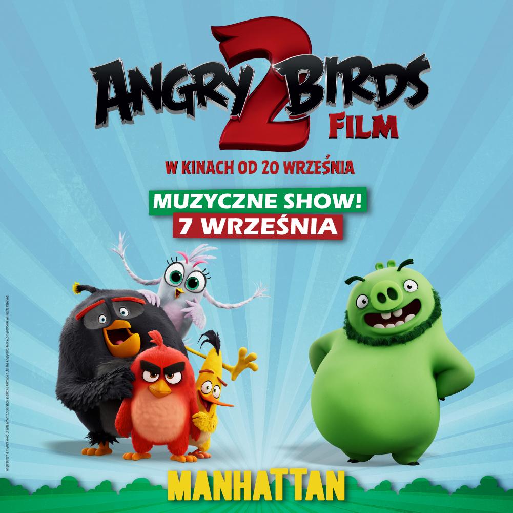 Angry Birds - Interaktywne Muzyczne Show w Manhattanie