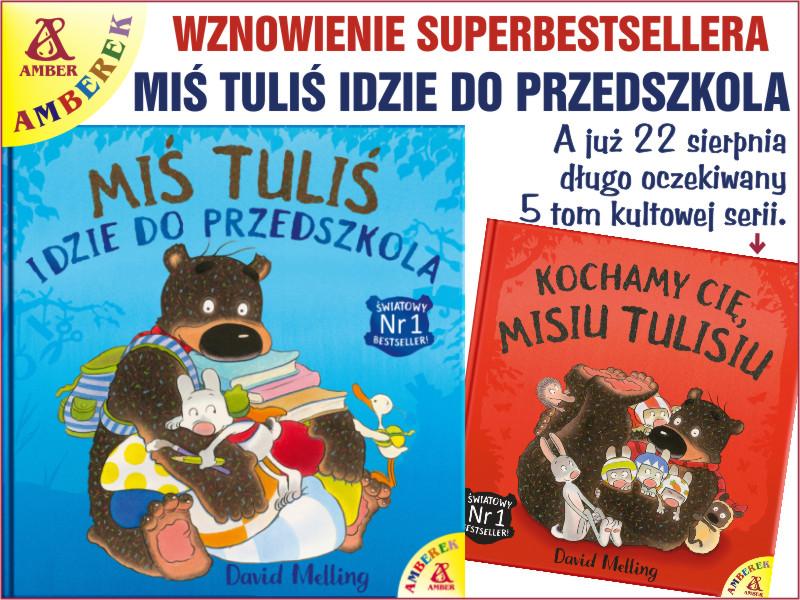 Miś Tuliś idzie do przedszkola