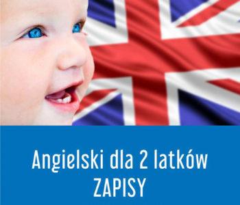 Baby English – angielski dla 2-latków