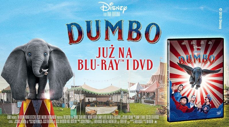 Dumbo DVD i Blu-ray