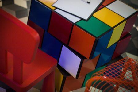 Dom Zagadek – kostka Rubika