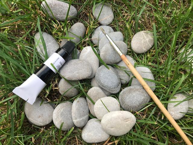 robimy domino z kamieni