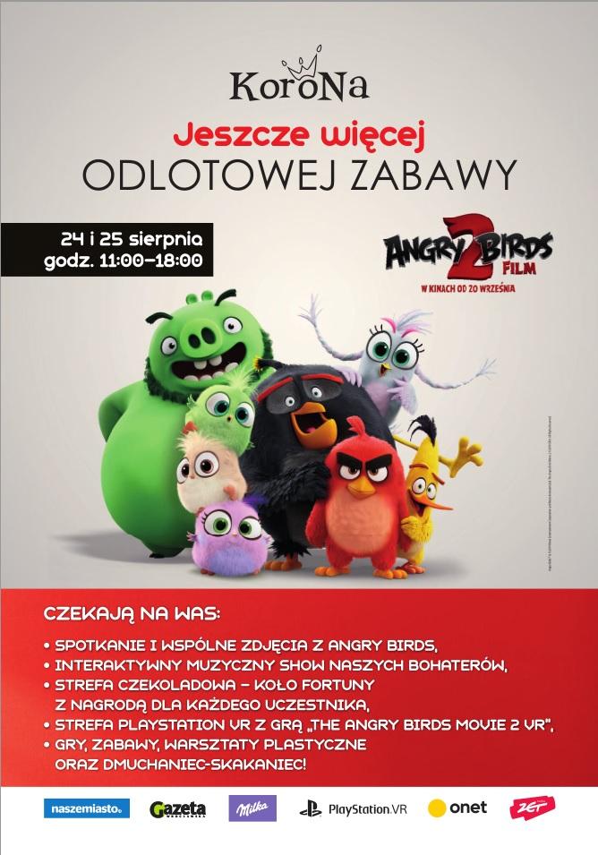 """Spotkanie z """"Angry Birds 2 Film"""" w Centrum Korona"""
