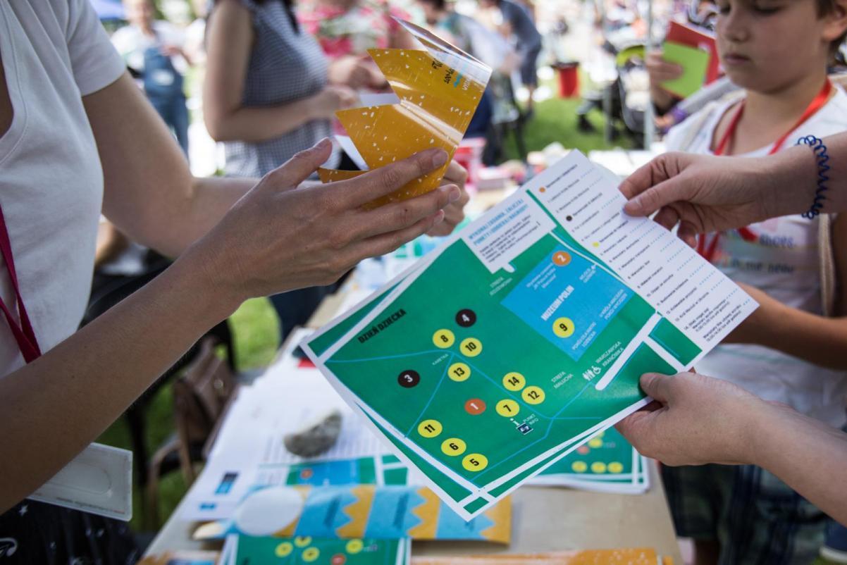 Gra przygodowa z literaturą w tle - warsztaty rodzinne na Łące Leśmiana