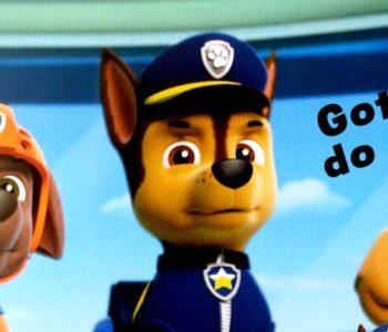Psi Patrol Pieski ratują pociąg